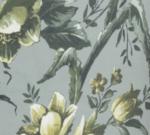 Blumenmuster (grau)