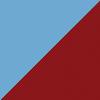 blau / bordeaux